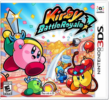 Игра Nintendo 3DS Kirby Battle Royale (PAL)
