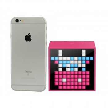 Колонка Вluetooth DIVOOM Timebox-pink mini