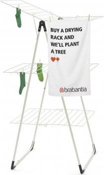 Сушилка для белья Brabantia Drying Rack напольная 3-ярусная 23 м Metallic Grey (476648)