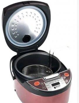 Мультиварка BITEK Rice Cooker MultiPro BT-00033 6,0л 1500Вт 12 программ Розовое Золото