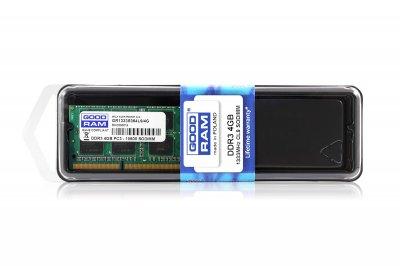 Модуль пам`яті SO-DIMM 4GB/1333 DDR3 GOODRAM (GR1333S364L9S/4G)