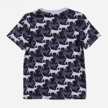 Футболка Coccodrillo Everyday Cat WC1143202ECA-021 Темно-серая