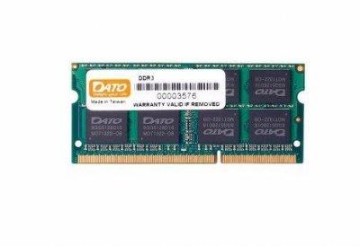 Модуль пам`яті SO-DIMM 4GB/1600 DDR3 Dato (4GG2568D16L)