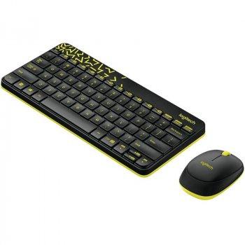Logitech Cordless Desktop MK240 Nano black (920-008213)