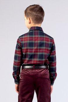 Рубашка для мальчика Zironka Z1-42-0004-1 Разноцветный