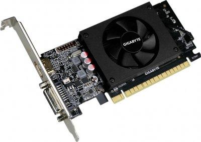 Gigabyte PCI-Ex GeForce GT 710 1024MB GDDR5 (64bit) (954/5010) (DVI, HDMI) (GV-N710D5-1GL)