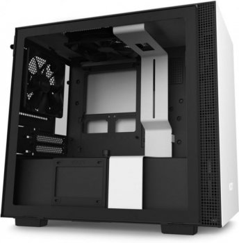 Корпус NZXT ZXT H210i Mini ITX WB with SmartDevice 2 (CA-H210i-W1)
