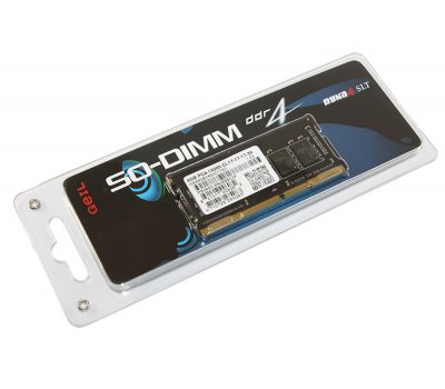 Память Geil SO-DIMM 4Gb DDR4 (GS44GB2400C17SC)