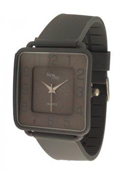 Женские часы NewDay Ch183g классические квадратные серые