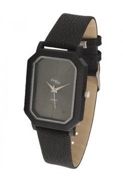 Женские часы NewDay Ch185d1 классические прямоугольные черные