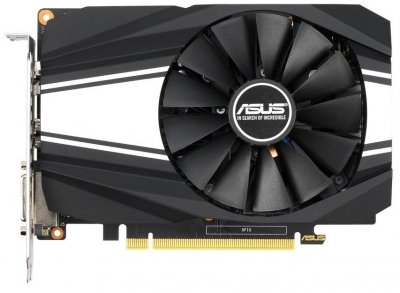 Відеокарта Asus GeForce GTX 1660 SUPER, PHOENIX OC, 6Gb GDDR6, 192-bit, DVI/HDMI/DP, 1830/14002 MHz, 8-pin (PH-GTX1660S-O6G)
