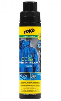 Водовідштовхувальне просочення для одягу Toko Eco Wash-in-Proof 250 ml (5582603)