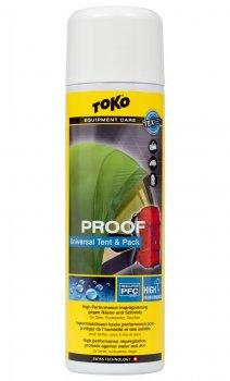 Водовідштовхувальне просочення для наметів і рюкзаків Toko Tent & Pack Proof 500 ml (5582650)