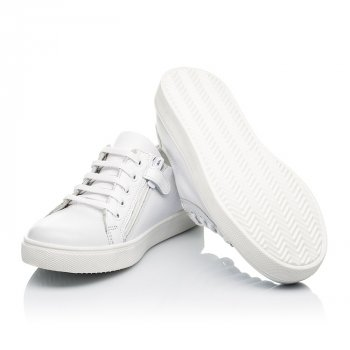 Кеды (боковая молния) Woopy Fashion 39 белый (8130)