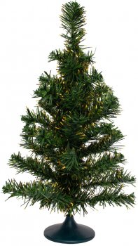 Штучна ялинка mag-2000 Зелено-золотиста 45 см (1МАГ-45/2) (4823020100385)
