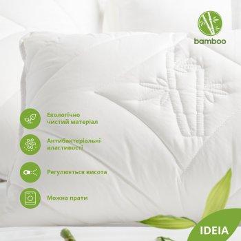 Подушка IDEIA Botanical Bamboo 50х70 см Біла (4820182658174)
