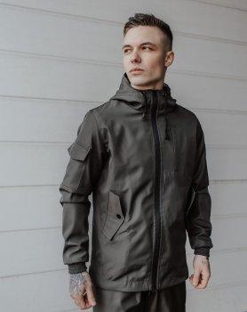 Костюм чоловічий осінній / весняний / літній Intruder Softshell Easy. Куртка + штани хакі
