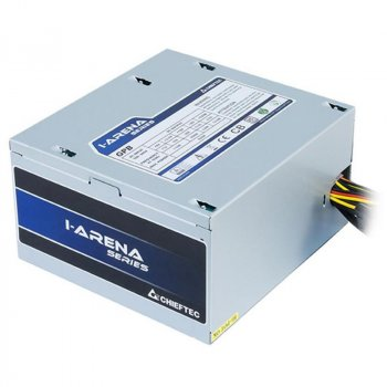 Блок питания Chieftec GPB-400S, ATX 2.3, APFC, 12cm fan, КПД >85%, bulk