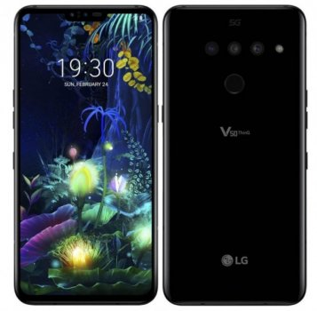 LG V50 ThinQ 5G 6/128GB Single Sim Black