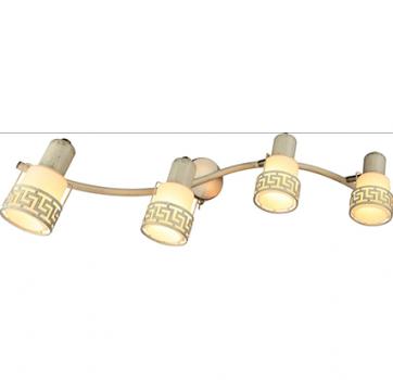Бра INL-9330W-04 Antique brass & Ivory