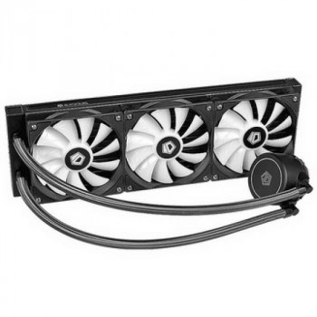 Система водяного охлаждения ID-Cooling Auraflow X 360, Intel: 2066/2011/1366/1151/1150/1155/1156, AMD: TR4/AM4/FM2+/FM2/FM1/AM3+/AM3/AM2+/AM2, 396х120х27 мм, 4-pin