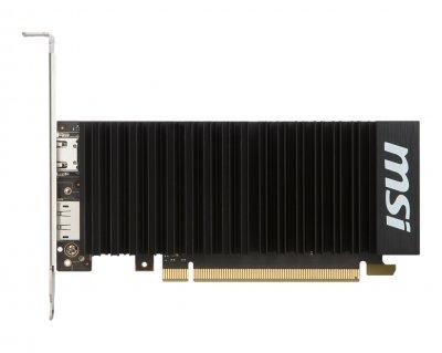 Видеокарта GF GT 1030 2GB GDDR5 Low Profile OC MSI (GeForce GT 1030 2GH LP OC)