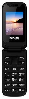 Мобильный телефон Sigma mobile X-style 241 Snap Black (4827798524718) (355239076977763) - Уценка