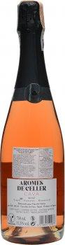 Вино игристое Arromes De Celler розовое брют 0.75 л 11.5% (8410644122037)