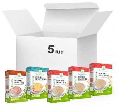 Упаковка хлопьев Терра Mixed Flakes Traditional 600 г х 5 шт (4820015736956)