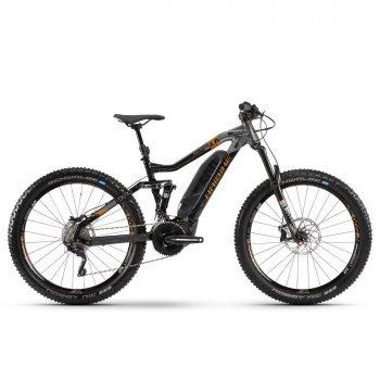 "Велосипед Haibike SDURO FullSeven LT 6.0 500Wh 20 s. XT 27,5"", рама M, черно-серо-бронзовый, 2020"