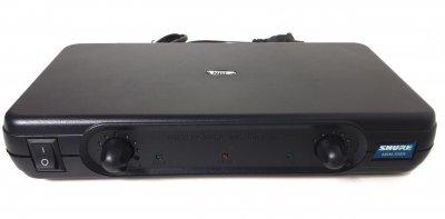 Радіосистема Shure AWM-508R, база, 2 мікрофона