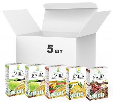 Упаковка каш Терра Mixed Fruit Porridge Vegan 190 г х 5 шт. (4820015737007)