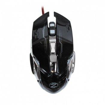 Ігрова мишка дротова Zornwee Z32 RGB 2400 dpi геймерська миша комп'ютерна LED підсвічування чорна