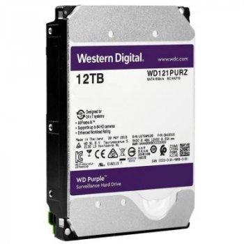 """Жорстку диск 3.5"""" 12TB WD (WD121PURZ)"""