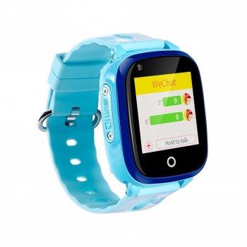 Дитячий розумний годинник Smart baby UWatch DF33Z 4G голубі