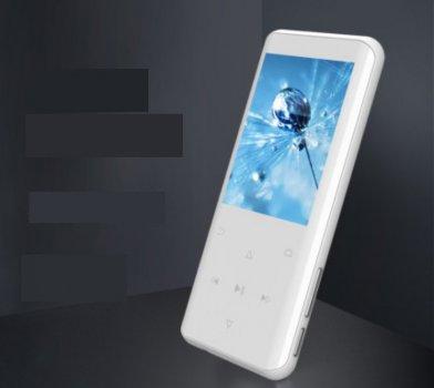 МР3-плеєр Ruizu D25+ Max Bluetooth HI FI 8Gb із зовнішнім динаміком Білий