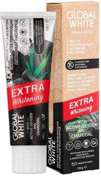 Зубная паста Global White Экстра отбеливающая Активный кислород 100 г (2021012512316)