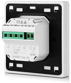 Терморегулятор для теплого пола с датчиком температуры Floureon C15.(16A)