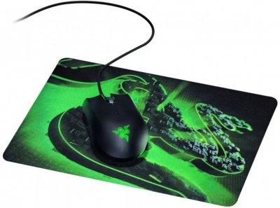 Миша Razer Abyssus Lite USB з ігровою поверхнею Goliathus Mobile Construct Edition Black/Green (RZ83-02730100-B3M1)