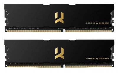 DDR4 2x8GB/4000 Goodram Iridium Pro Black (IRP-4000D4V64L18S/16GDC)