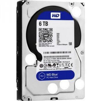 HDD SATA 6.0 TB WD Blue 5400rpm 256MB (WD60EZAZ)