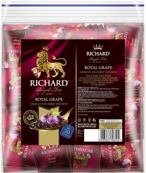 Чай Richard фруктовый Royal Grape со вкусом винограда 50 пакетиков (4823063706124)