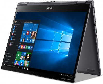 Ноутбук Acer Spin 5 SP513-55N-7328 (NX.A5PEU.00E) Steel Gray