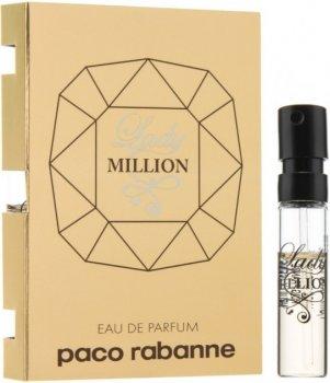 Пробник Парфюмированная вода для женщин Paco Rabanne Lady Million 1.2 мл (23349668509441)
