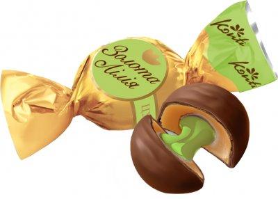 Конфеты Konti Золотая лилия со вкусом фисташки 1 кг (4823088605617)