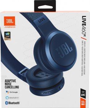 Навушники JBL LIVE 460 NC Blue (JBLLIVE460NCBLU)