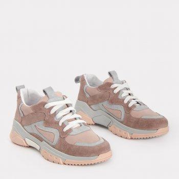 Кроссовки Caruso Shoes Sofia Brown 21-00494 Розовые