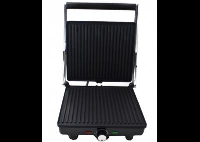Електричний гриль Crownberg CB-1043 притискної з індикаторами нагріву 2000 Вт + антипригарне покриття (11976)