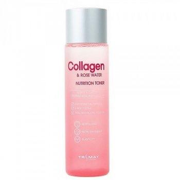 Тонер Trimay Collagen & Rose Water Nutrition Toner питательный с коллагеном и экстрактом розы 210 мл