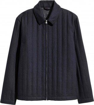 Пальто H&M 04VRM07 Чорне